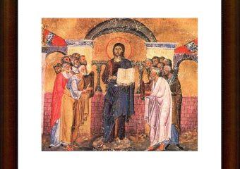 predica duminica dupa botezul domnului