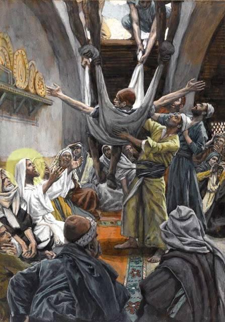 pilda vindecarii slabanogului din capernaum