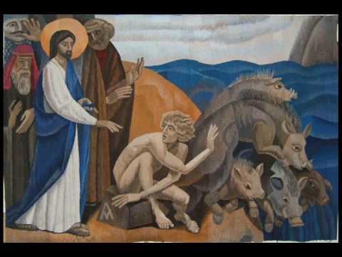 isus vindeca demonizatul