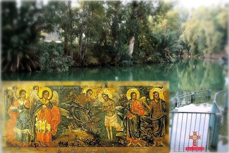 sfantul ioan botezatorul la raul iordan